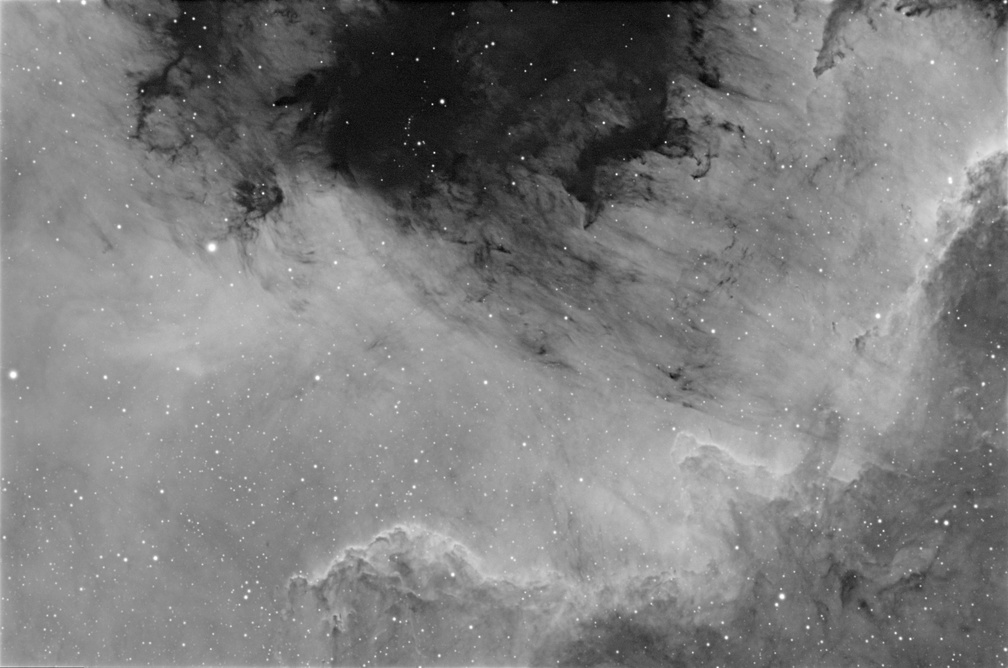 Cygnus Wall and Gulf of Mexico Nebulae